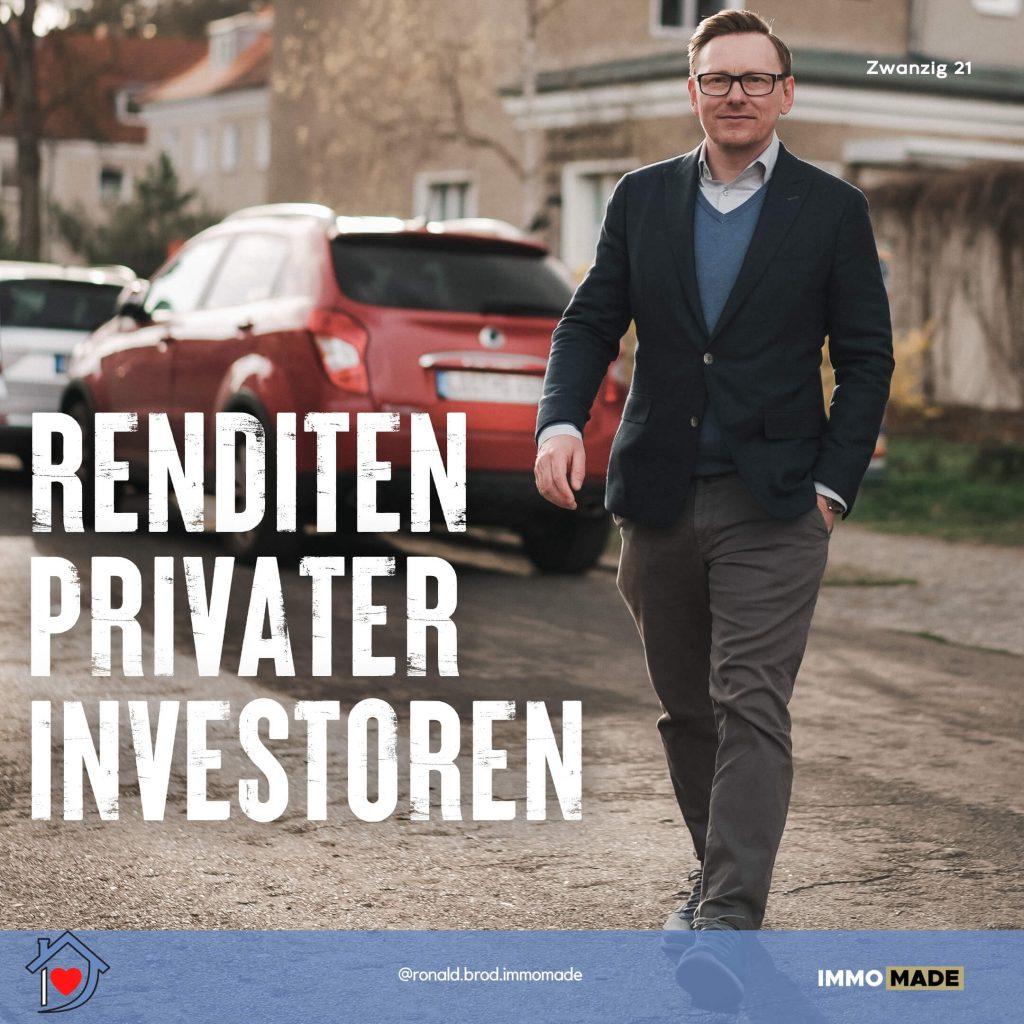 Viele private Immobilieninvestoren verdienen mit ihren Investments kein Geld.