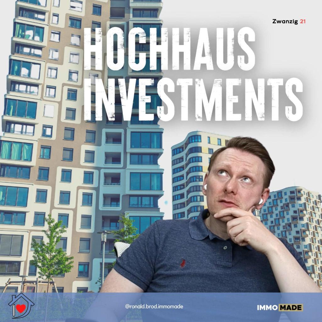 Hochhausinvestments sind spannend aber tricky